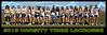 2013 Varsity Tribe Lacrosse Team Poster