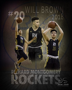 Will Brown 2018 - Richard Montgomery Basketball