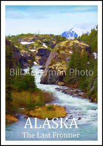 Alaska -- The Last Frontier Travel Poster