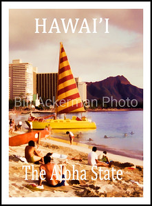 Hawai'i Travel Poster