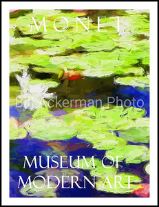 Monet MOMA Poster