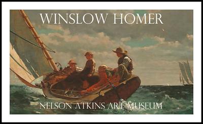 Winslow Homer Exhibit Poster #2