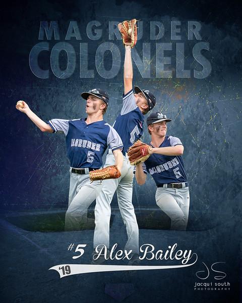 Alex Bailey, Magruder High School Baseball, ©2019 Jacqui South Photography