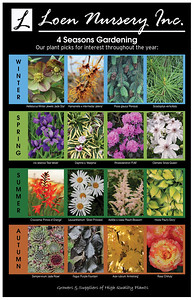 4 Seasons Gardening Poster SMUGMUG