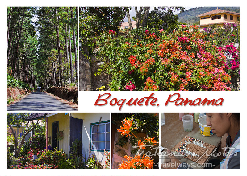 Postcard from Boquete, Panama