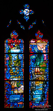 In memory of Kathrine Dulin Folger 1904-1997. A cathedral builder, Member of All Hallows Guild and national Cathedral Association, Champion of Arts, Health and Education