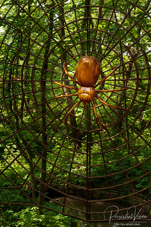 Spider&Web Sculpture