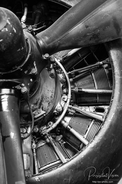 Propeller and Engine Detail