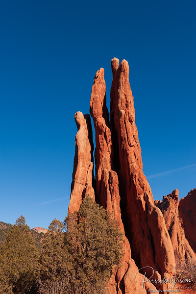 """""""Three Graces"""" Rock Formation"""