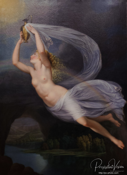 Iris Carrying the Water of the River Styx to Olympus for the Gods to Swear By