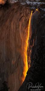 Firefall Phenomenon at Horsetail Fall