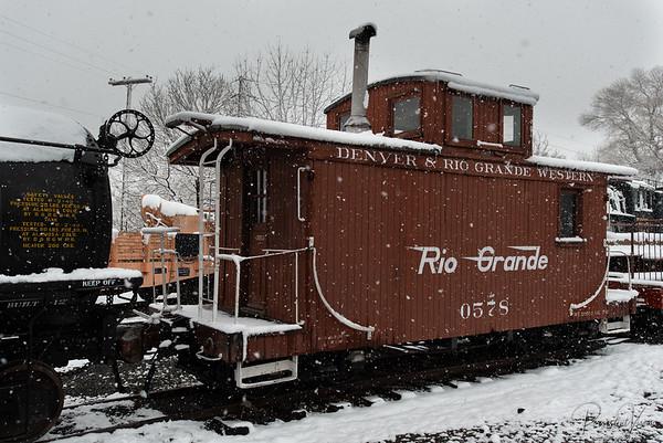 Denver & Rio Grande Western Caboose 0578
