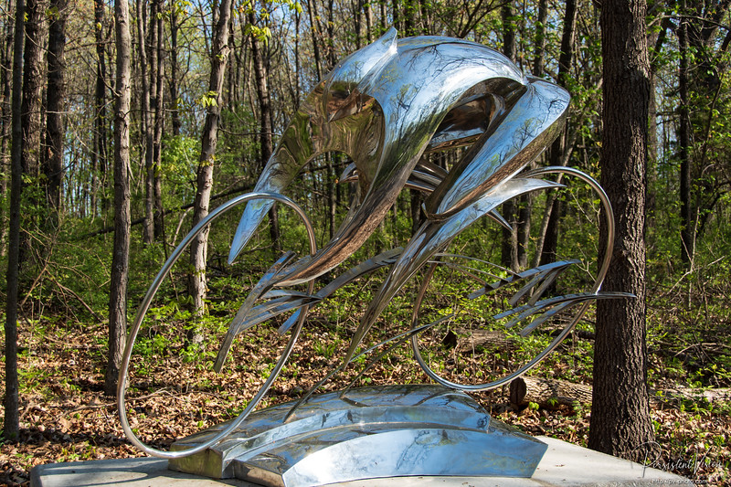 Sculpture: Silver Whirlwind