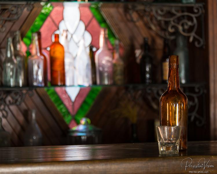Still life on a bar