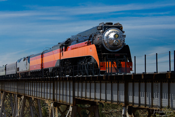 Southern Pacific Steam Locomotive 4449