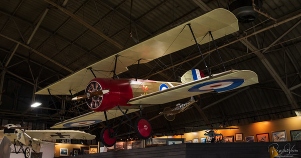 "Sopwith Scout (""Pup"") British Biplane Fighter (Full Scale Replica)"
