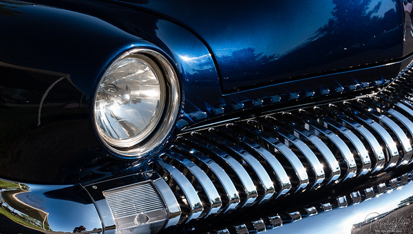 1951 Mercury Monterey Coupe (Indigo Blue) (Owner: Steve Sheets - Lee's Summit, MO)