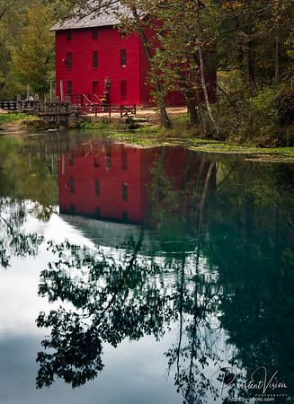 Alley Spring Mill Reflection