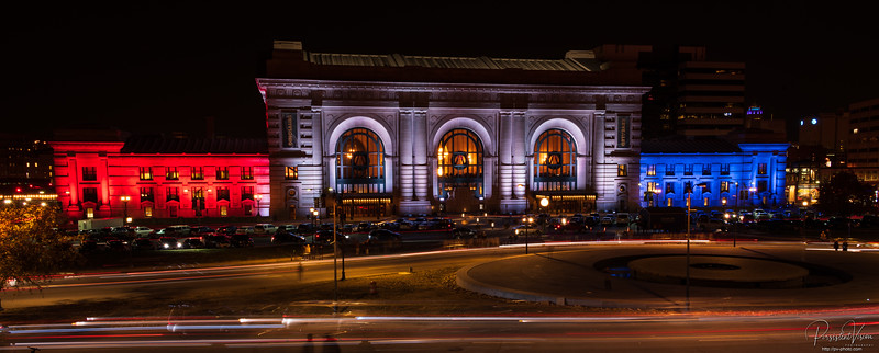 Union Station-Red, White and Blue
