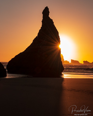 Howling Dog Rock at Sunset