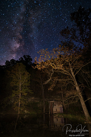 Falling Spring and Milky Way
