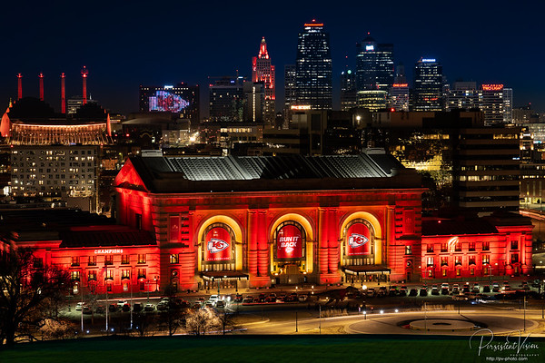 Union Station and KC Skyline