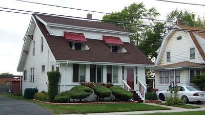 Old Zallar family house in Harvey, Illinois