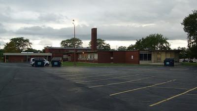 Field school behind the old Zallar house in Harvey