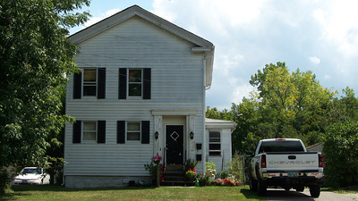 Grandma Hackbart's house on 92 Egbert road in Bedford