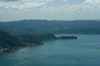 Gulfo Dulce (Bay)  - Playa Kakau below