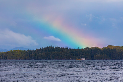 Rainbow at Port McNeill