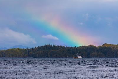 Rainbow at Port McNeill