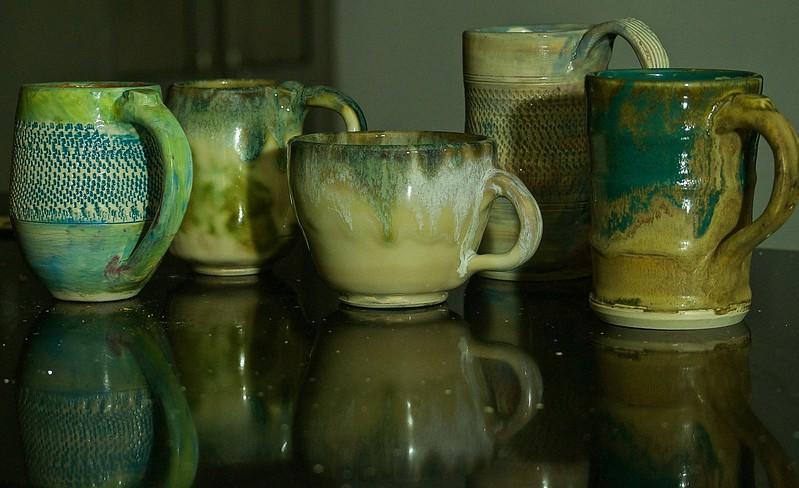 Mugs by Tom