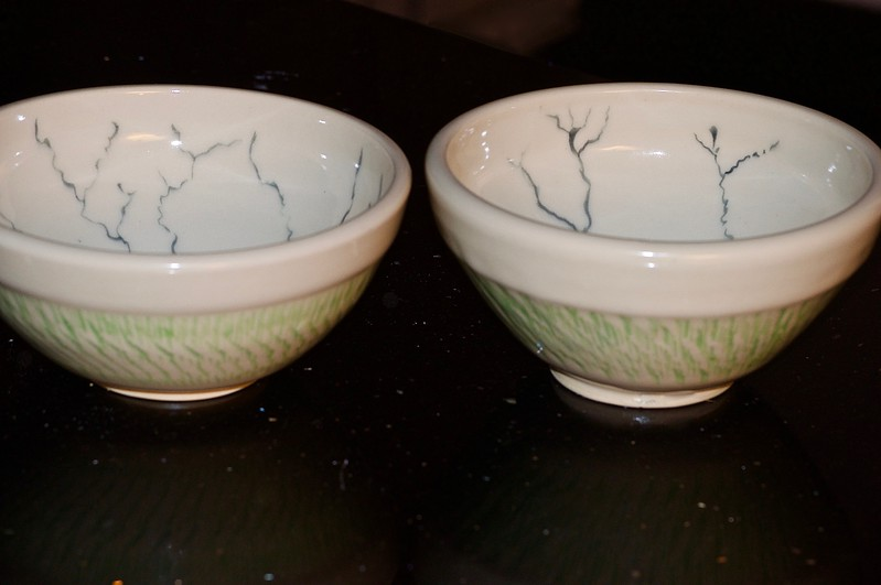 Fissure Bowls by Tom