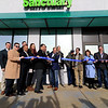 The area's first pot dispensary Sanctuary Medicinals in Gardner held its official ribbon cutting on January 4, 2019. Local officials gathered around employees of Sanctuary as Mayor Mark Hawke and CEO Jason Sidman cut the ribbon. SENTINEL & ENTERPRISE/JOHN LOVE