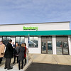 The area's first pot dispensary Sanctuary Medicinals in Gardner held its official ribbon cutting on January 4, 2019. SENTINEL & ENTERPRISE/JOHN LOVE