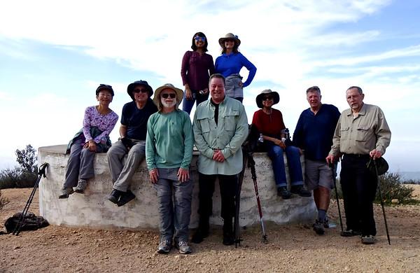 Potato Mountain Hike with Sierra Club, Claremont CA April 5, 2018