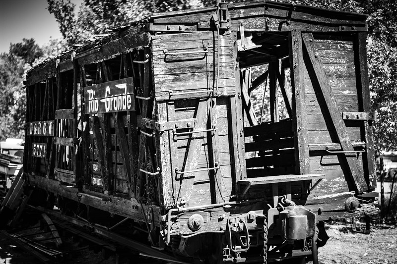 Cattle Car BW