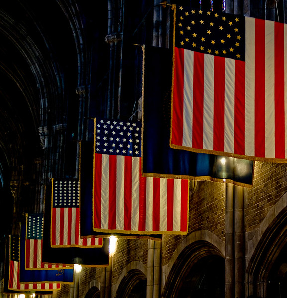 West Point Military Academy Cadet Chapel, New York
