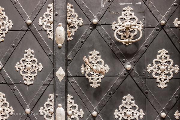 Door detail, Prague