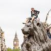 Lion tamer, Trafalgar Square