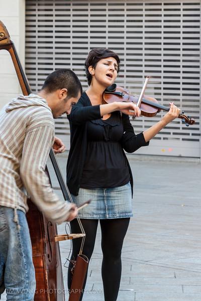 String duet, Barcelona