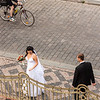Bride and groom, Prague