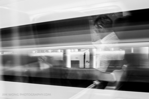 Train rider, Toledo