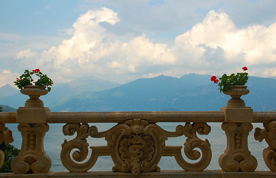 Lake Como, from Villa Balbianello--Italy