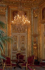 Napoleon`s Apartment (Louvre) Paris, France