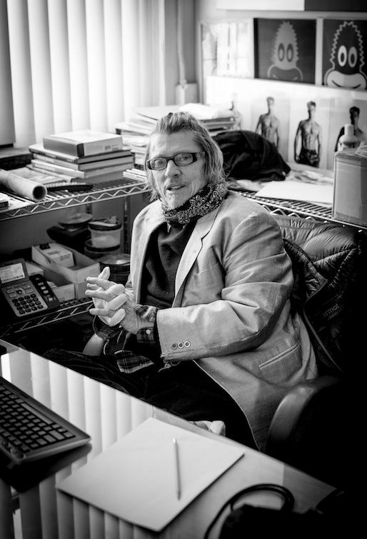 Photogrpher Christopher Makos, 2015 New York