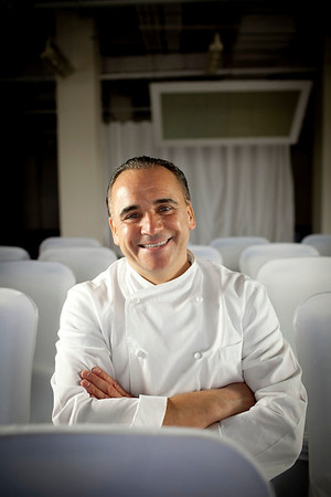 Celebrity restaurateur Jean Georges