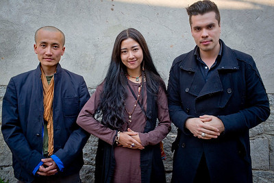 Chen Zhi Peng, Yang Ji Ma and Both Miklos, 2013 Dali, China