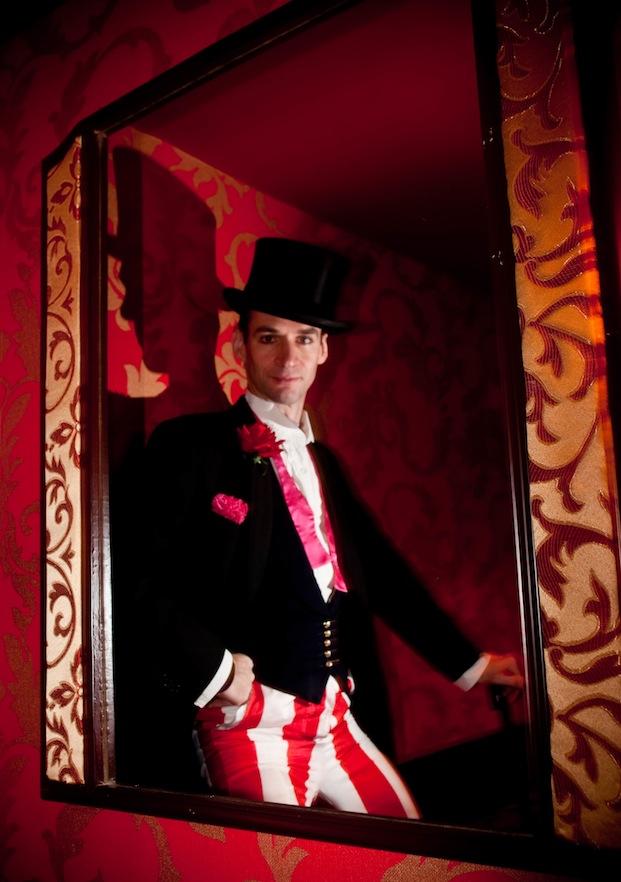British Actor Charles Mayer aka Chinatown Charlie 2010 Shanghai